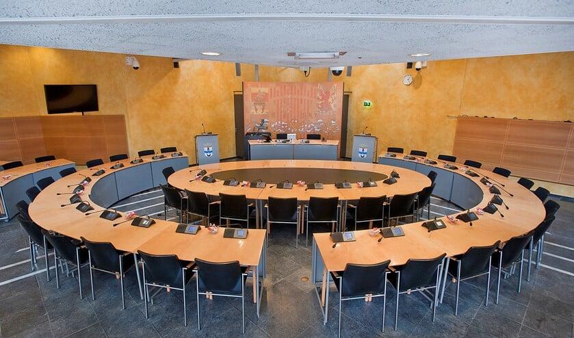 <p>De huidige raadzaal in Voorburg is te klein (archieffoto: Michel Groen).</p>