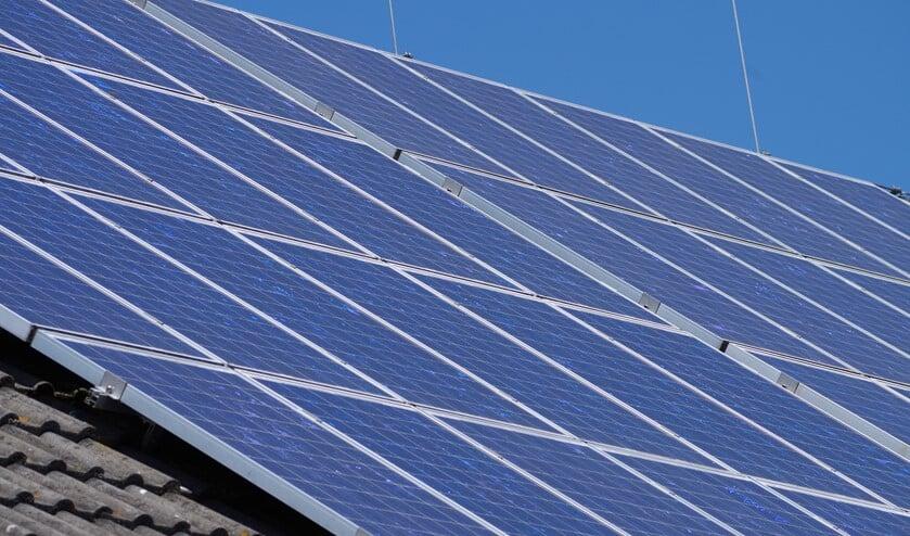 Er zijn en worden al veel gebouwen in de gemeente voorzien van zonnepanelen.