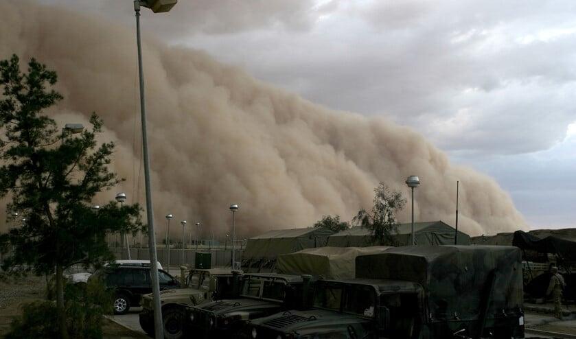 De ellende begon met een zandstorm op Boa Vista.