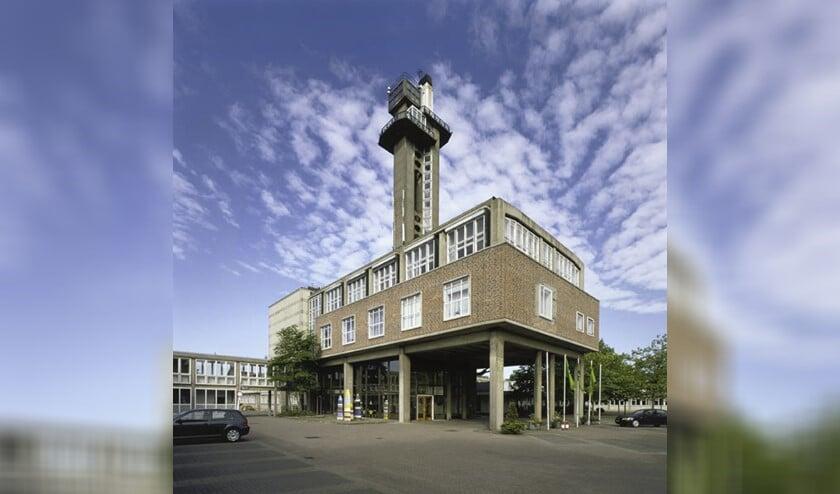 Het voormalige Dr. Neherlaboratorium in Leidschendam (archieffoto).