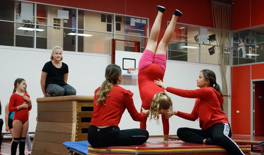 Turnen bij Gymnova Gymnastiek (foto: Ankie Mathlener).