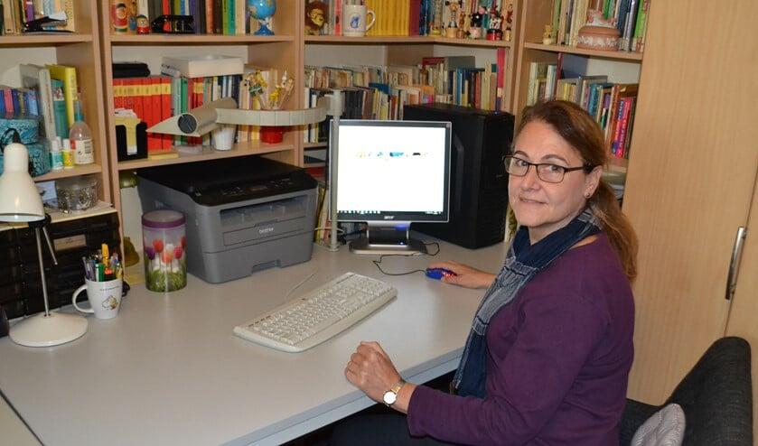 Gea Beijering vindt het heerlijk om leerlingen te helpen het beste uit zichzelf te halen (foto: Inge Koot).