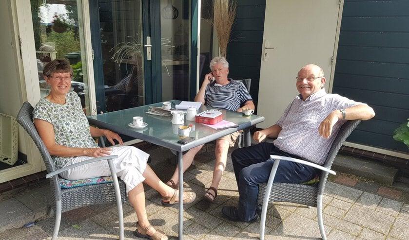 Janneke en Harry gaven onlangs ook al een interview aan Sjaak Oudshoorn van de Telstar. Foto: Linda Vaandering