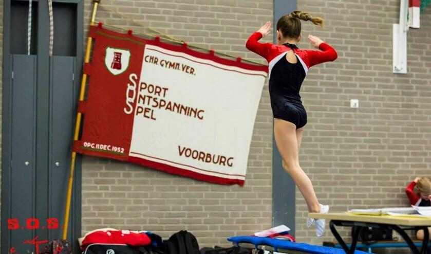 SOS Voorburg organiseert een paar keer per jaar wedstrijden, zoals springwedstrijden, de februariwedstrijden en de onderlinge wedstrijden