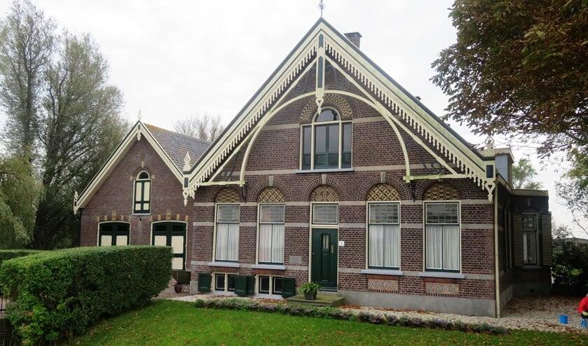De hofstede Meulenzicht aan het Wilsveen, op de grens van Leidschendam, Voorburg.