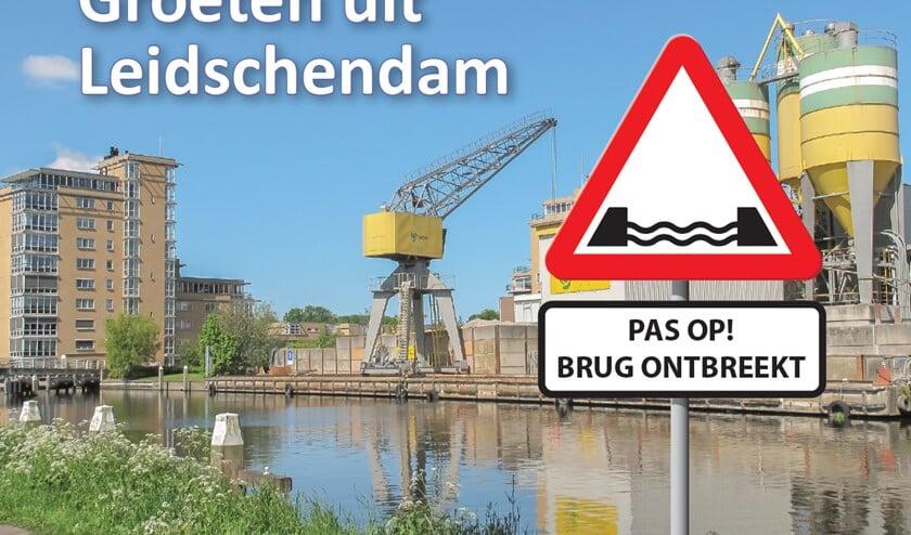 De ludieke ansichtkaarten die Dambelang heeft laten maken (foto: pr Dambelang).