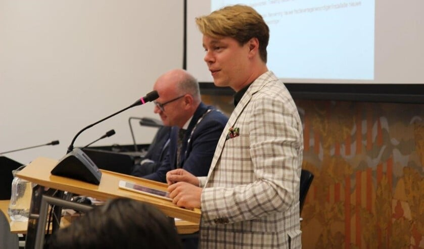 Fractievoorzitter Jeroen van Rossum van GroenLinks (archieffoto: Ap de Heus).