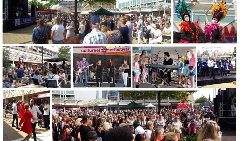 Compilatie van het Cultureel Zomerfestival 2017 (foto pr).