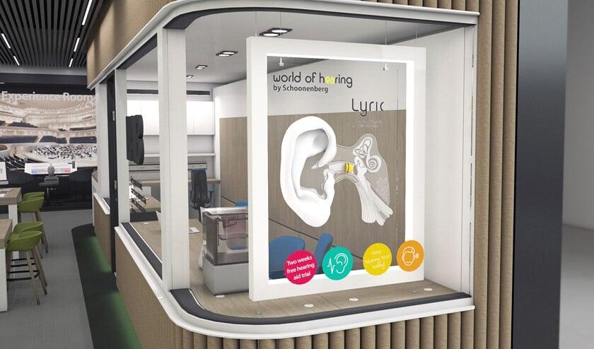 Het meest uniek in World of Hearing by Schoonenberg is de zogenoemde Experience Room met de beste geluidsbeleving (foto: pr).