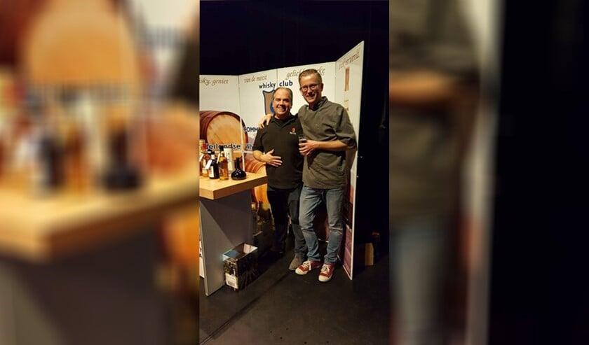 Peter Verbeek (l.) en Alfred van Kesteren verwennen u met heerlijke gerechten en bijpassende whisky (archieffoto).