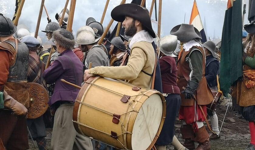 De slag om Grolle, 1627 (reconstructie 2019, Groenlo)