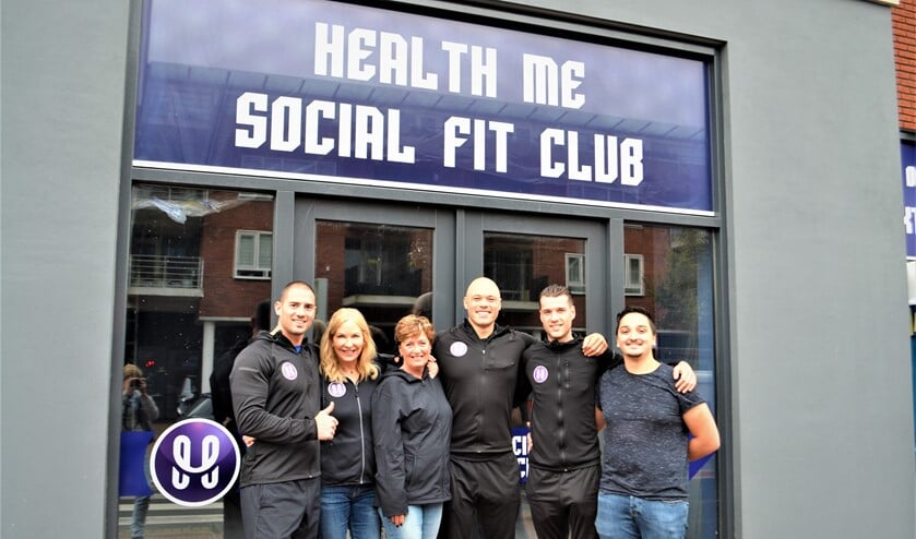 Het team van Health Me Social Fit Club.