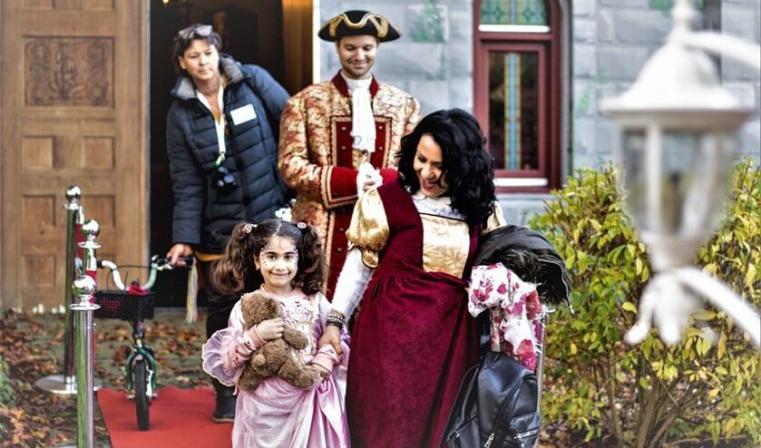 Lawe en de rest van het gezin, werden koninklijk verwend tijdens hun geheel verzorgde Opkikkerdag (foto: pr).