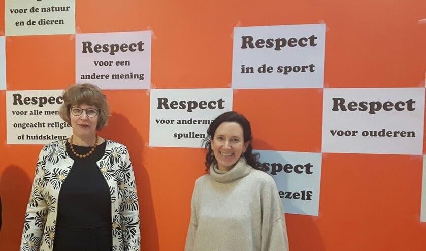 Wethouder Bouw gaf een gastles op het Schakenbosch College.