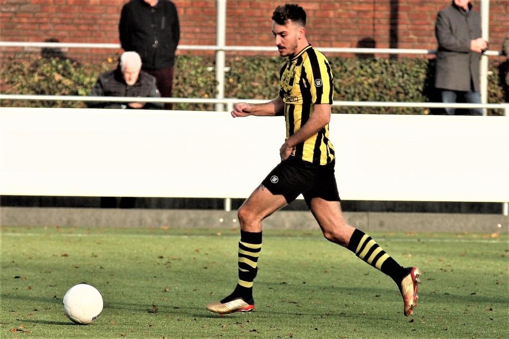 Jake Smart (Wilhelmus) werd matchwinner (archieffoto: AW).  © Het Krantje