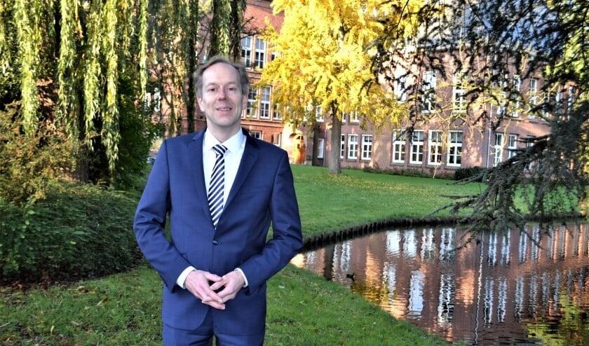 Wethouder Rouwendal is aangenaam verrast over de opbrengst van de verkoop Eneco-aandelen (Foto: Inge Koot)