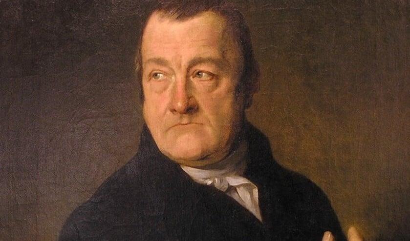 Burgemeester Coenraad van Eijk (1783-1841), toen nog schout genoemd.