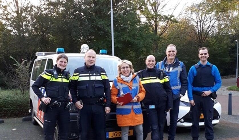 De actie werd uitgevoerd door de politie, samen met het buurtpreventieteam Essesteijn, handhavers van de gemeente en politievrijwilligers.