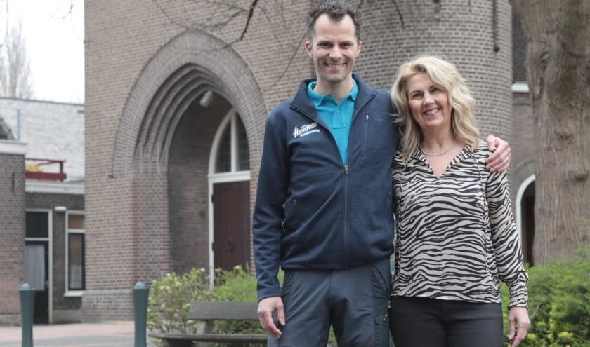 Dennie van Herwijnen en Monique Stork over de Dorpsstraat: Samen Sterk! Foto: Jan van Es