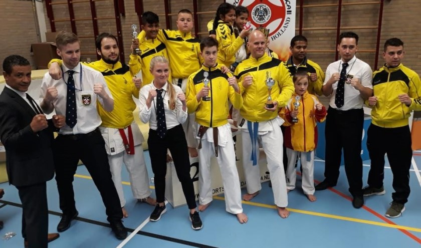 Het jaarlijkse toernooi van Sportschool da Graca in de Veur was weer geweldig. Foto: pr