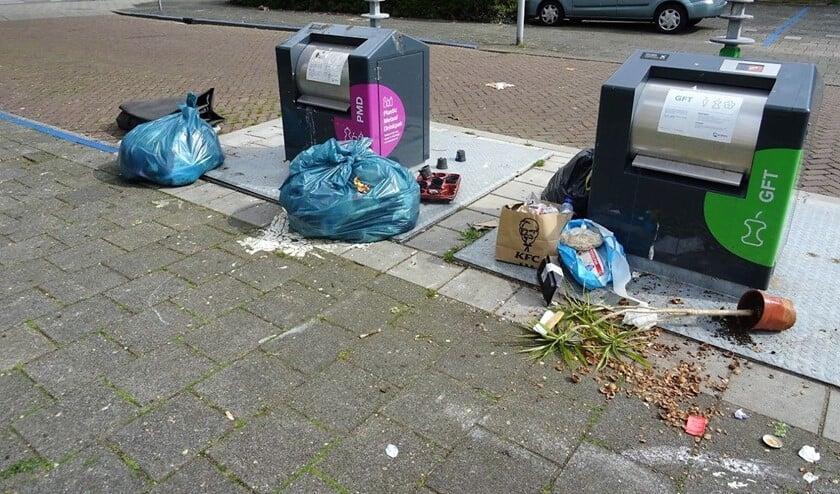 Nog steeds komen er veel klachten binnen over niet geleegde en/of volle containers (foto: Ap de Heus).