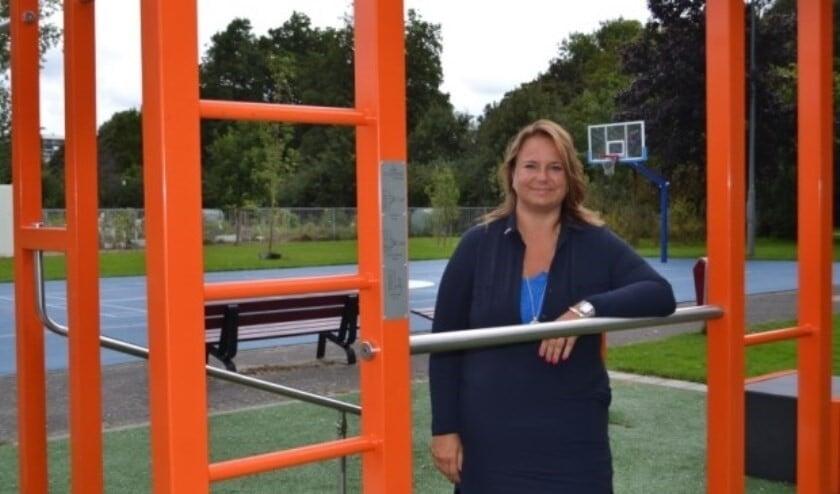Wethouder sport, Nadine Stemerdink (Foto Inge Koot)