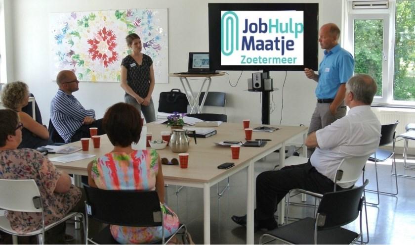 JobHulpMaatje ondersteuntwerkzoekenden op weg naar werk waar dat nodig is. Foto: pr