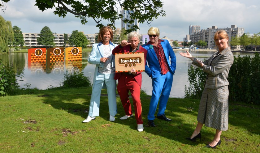 Voor slechts 1 euro kunnen bezoekers van Zondag in het Park deelnemen aan de loterij. Foto: pr