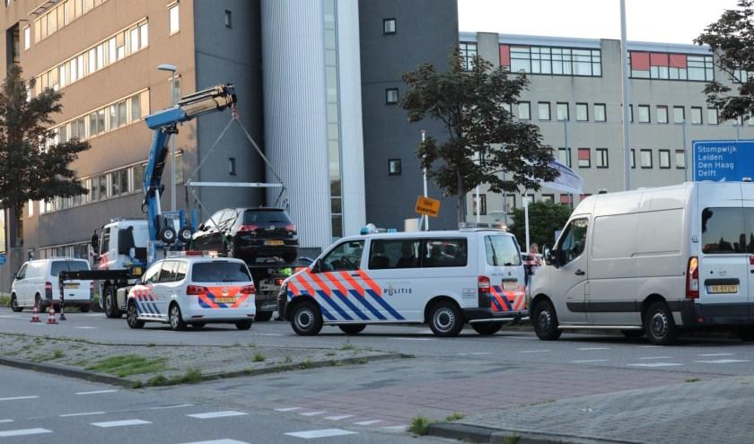 Schietpartij op dinsdagavond aan de Duitslandlaan / Denemarkenlaan in het stadscentrum. Foto: Jan van Es