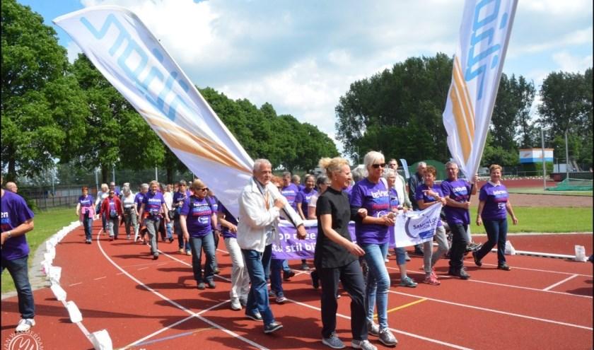 Zoetermeer gaat wandelend geld inzamelen voor KWF Kankerbestrijding. Foto: