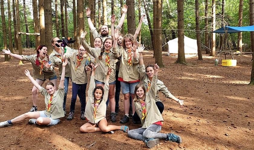 Na de zomerkampen hebben de jeugdleden van de Zoetermeerse Scoutinggroep John McCormick zomervakantie. Op 7 september vindt het jaarlijkse overvliegfeest plaats. Foto: pr