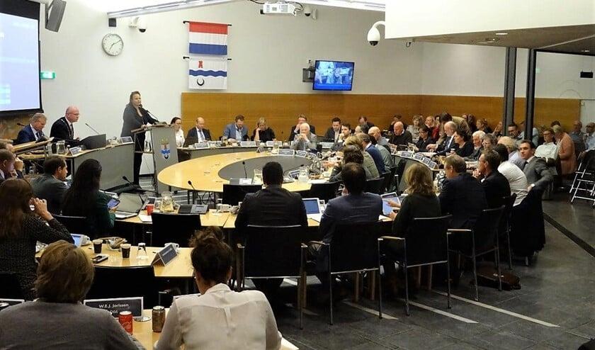 De gemeenteraad bijeen (foto: Ap de Heus).