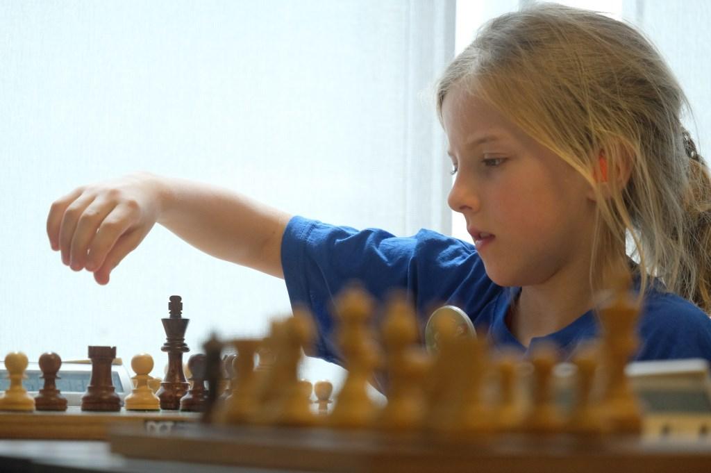 Emma werd tweede (foto: Debora van Es).  © Het Krantje