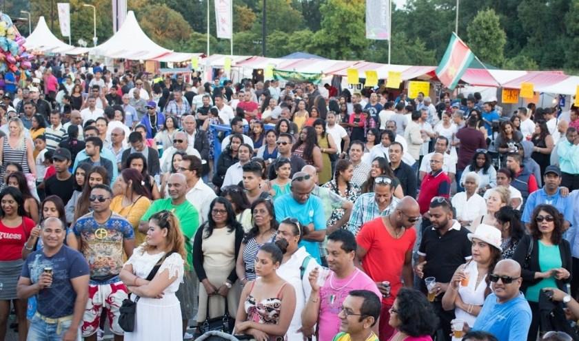 'Milan' betekent ontmoeting en symboliseert de samenvoeging van drie belangrijke historische gebeurtenissen van de grootste cultuurgroepen van Suriname. Foto: DI-FO Fotografie