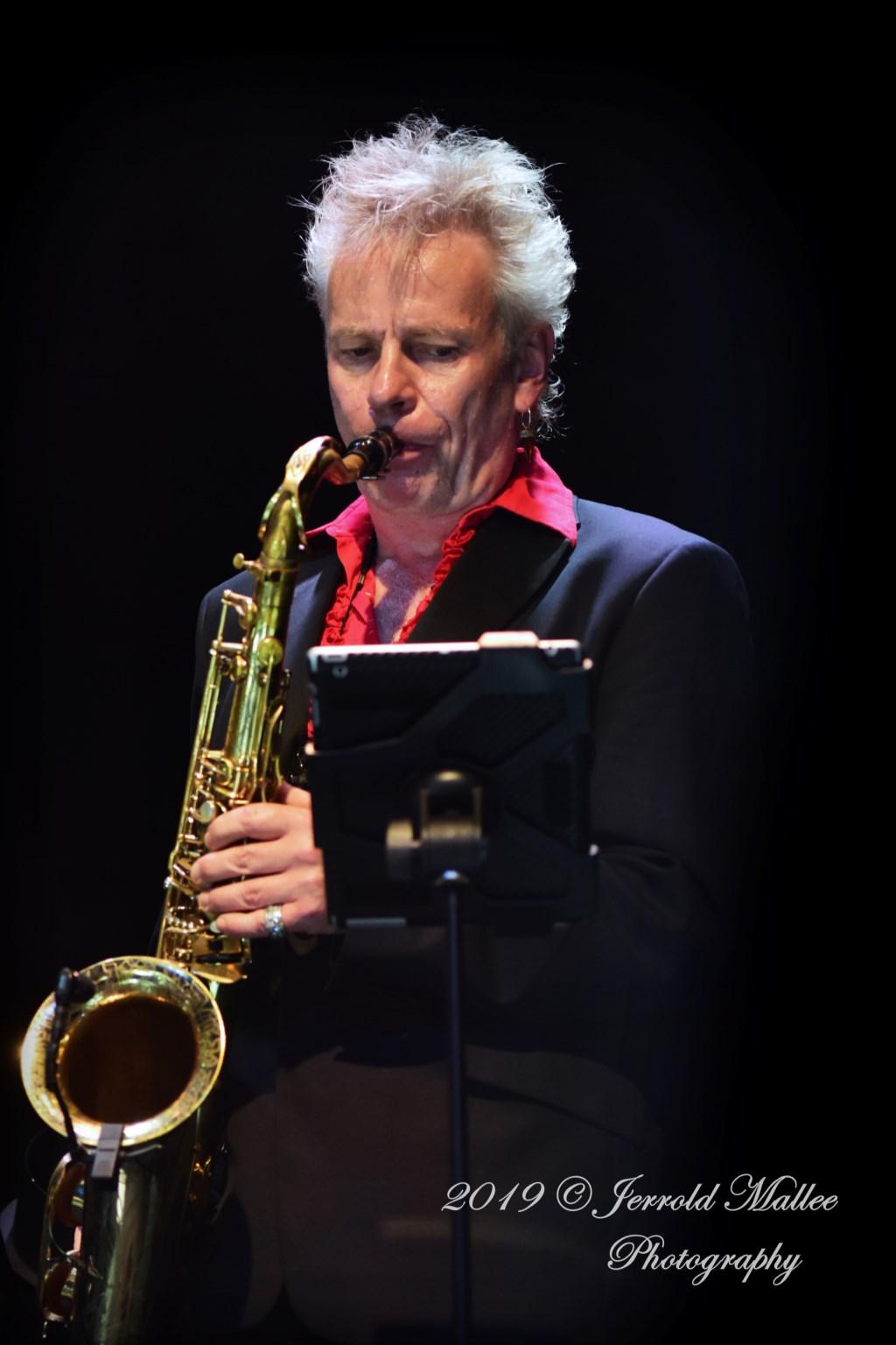 Saxofonist Boris van der Lek. Foto: Jerrold Mallee © Postiljon