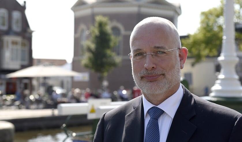 GBLV-fractievoorzitter Frank Rozenberg wil een noodfonds voor sport en cultuur (Foto: Michel Groen).