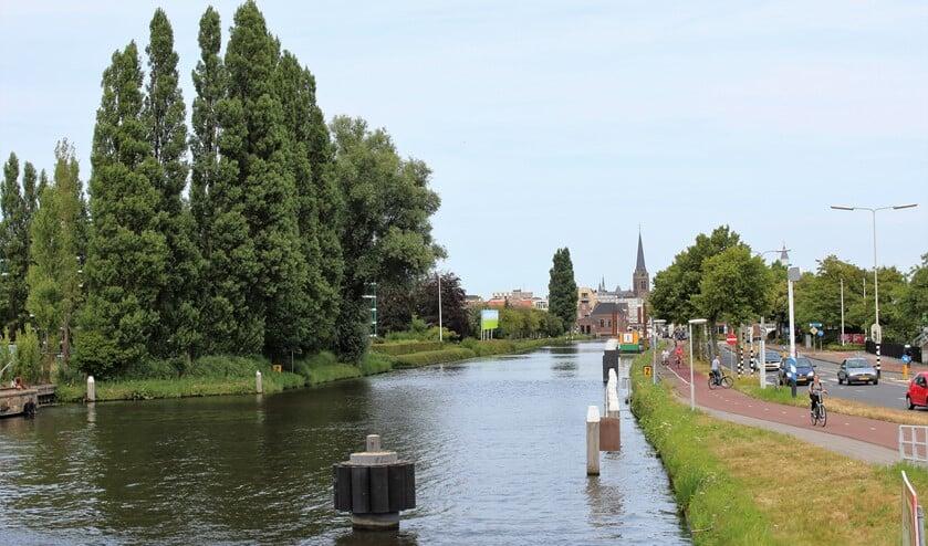 Ter hoogte van de Overgoo zou een extra brug moeten komen vinden de voorstanders van een brug. De tegenstanders denken dat die alleen  maar het probleem verplaatst (foto: DJ).