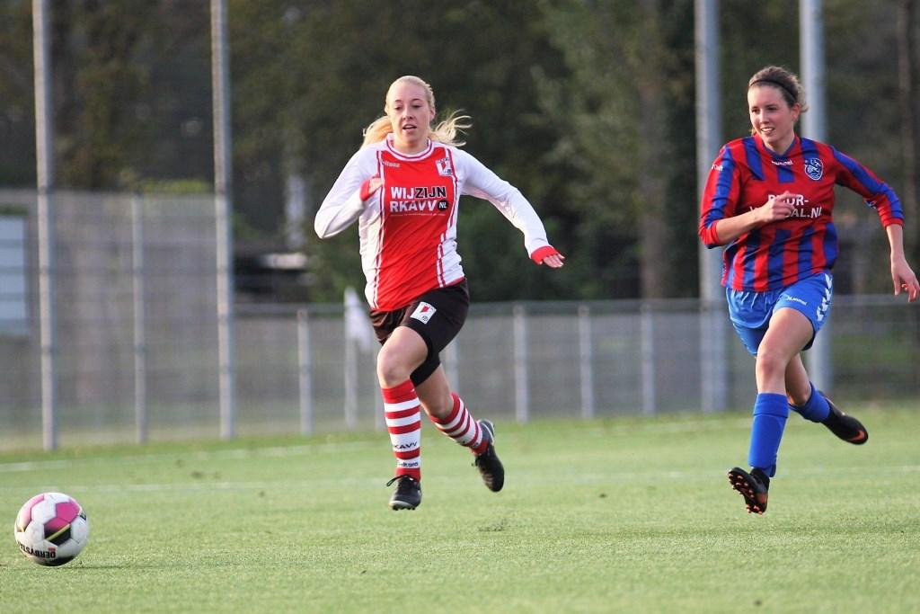Romy van der Helm scoorde drie keer (archieffoto: AW).  © Het Krantje