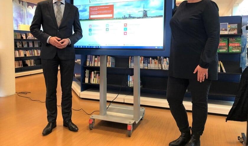 Wethouder Jan-Willem Rouwendal heeft  de Sociale Kaart gelanceerd, een site metinfo over ondersteuning en activiteiten in uw buurt.