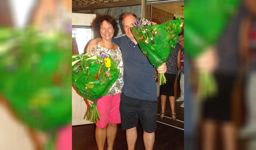 Met een voorsprong van slechts 0.09 procent won het echtpaar Paula en Johan Pieters, allebei lid van PBC.