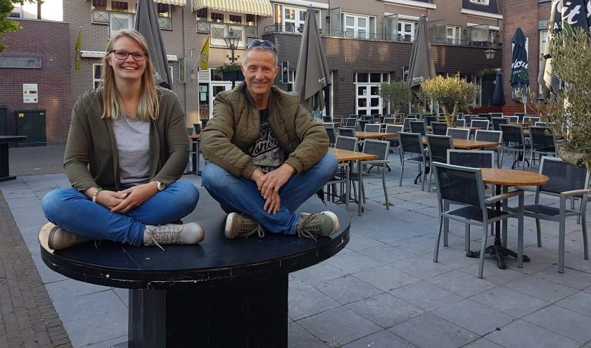 Kirsten van Loon en René van der Spek van de organisatie Geuzendag. Foto: Jana Hurtado-Panek
