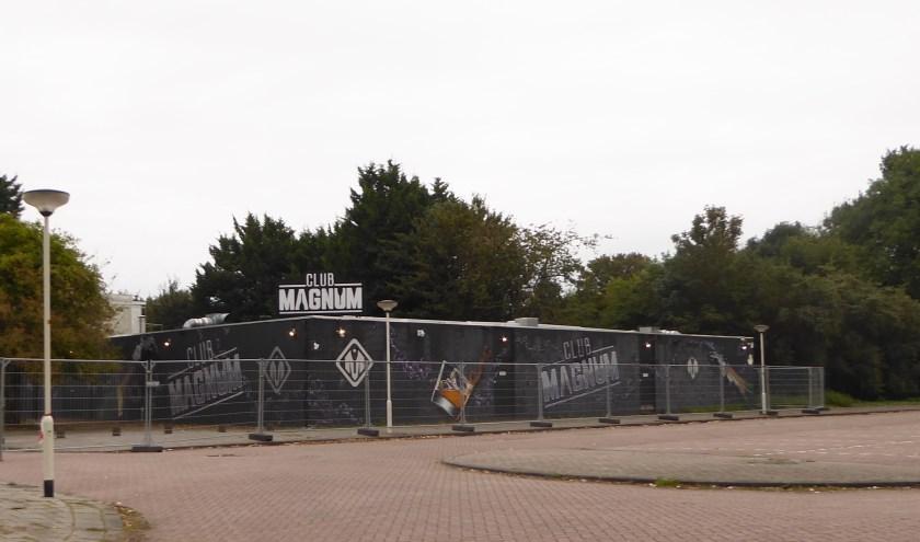Club Magnum in het Van Tuyllpark, de situatie op 24 september 2019. Foto: Jan van Es