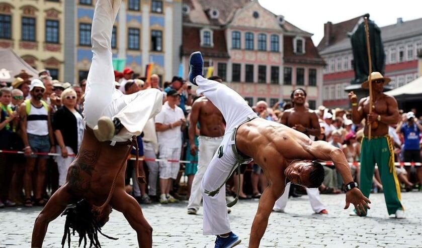 Een interessant nieuw aanbod op de woensdagmiddag is Capoeira voor jeugd.