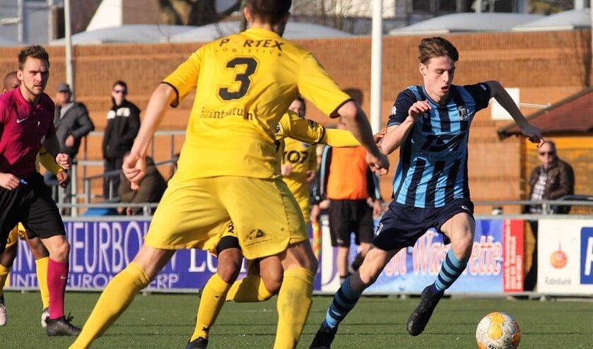 Edoardo Saurwalt (Forum Sport) scoorde 1-0 (archieffoto: AW).
