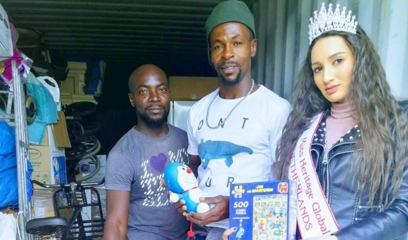 Miisz Gracie is heel blij met de mooie samenwerking met stichting Ghana over de IJssel. Foto: pr