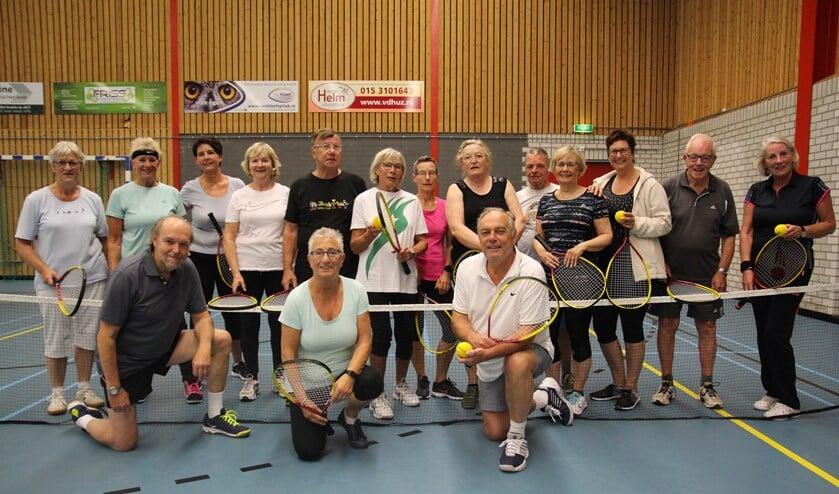 Dynamic Tennis is een van de 'vormen van bewegen' die tijdens de Week van de Dementie uitgeprobeerd kunnen worden.