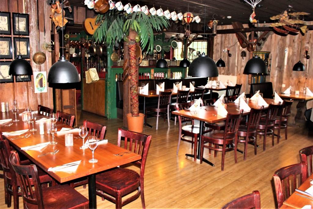Het gezellig ingerichte restaurant.  © Het Krantje