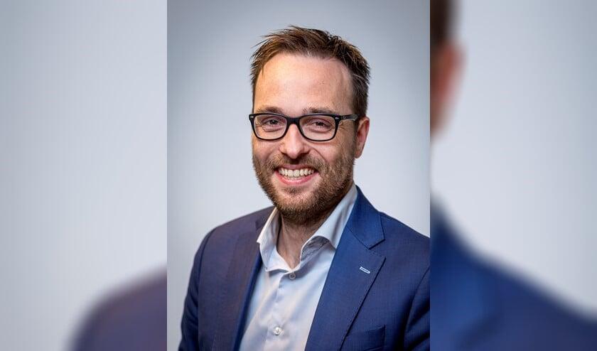 D66-fractievoorzitter Jacco van Maldegem (Foto: D66).
