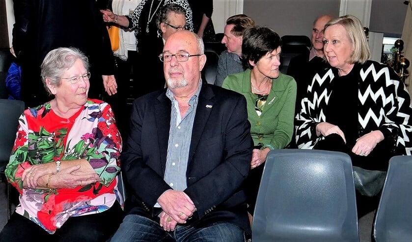 De heer Kees Verbeek nam na 14 jaar afscheid en kreeg een receptie aangeboden in Museum Swaensteyn (foto: Ot Douwes).