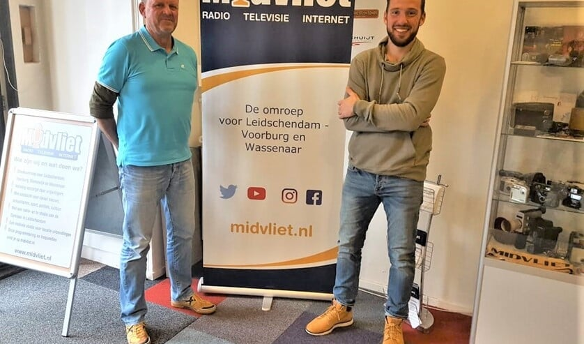 <p>Edwin van de Graaf met Alexander Wagener bij Midvliet (archieffoto).</p>